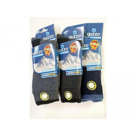 Guzzo Erkek Yün Termal Çorap